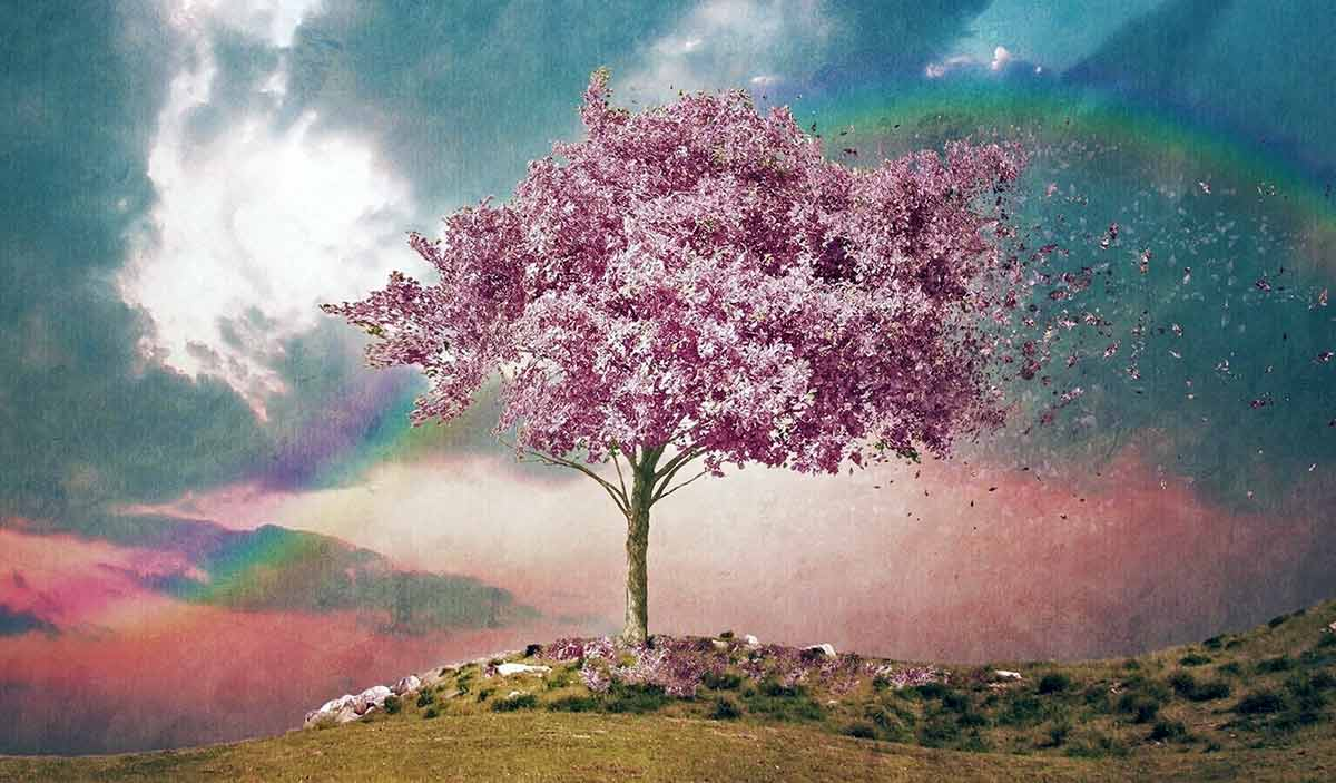 Pink Happiness Tree